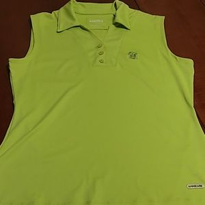 Annika Cutter & Buck Sleeveless Polo Athletic Top